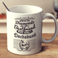 Whoever Said Diamonds Are A Girl's Bestfriend Never Owned A Dachshund