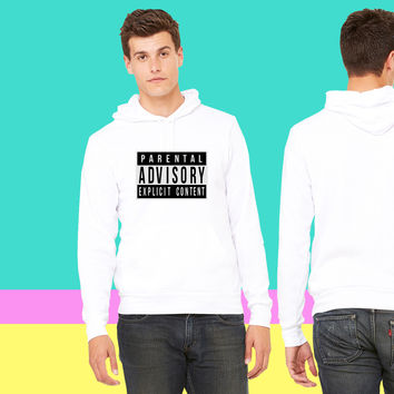 parental advisory sweatshirt hoodiee