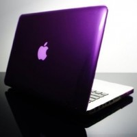 "TopCase PURPLE Crystal See Thru Hard Case Cover for Macbook Pro 13-inch 13"" (A1278 / with or without Thunderbolt) -NOT for retina display- with TopCase Mouse Pad"