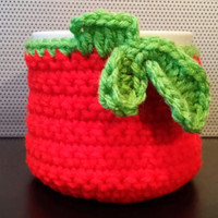Apple Cup/Mug Cozy, fall, autumn, back to school