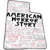 American Horror Story Quotes e40b258b-0760-4739-8e75-32cb22b84fe5 for Kids Blanket, Fleece Blanket Cute and Awesome Blanket for your bedding, Blanket fleece *AD*