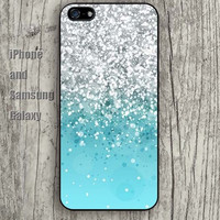 Mint shine green iphone 6 6 plus iPhone 5 5S 5C case Samsung S3,S4,S5 case Ipod Silicone plastic Phone cover Waterproof