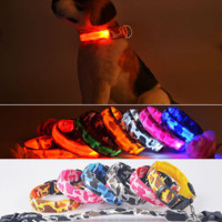 Large Pet Flashing LED Collar