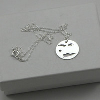 Virgin Islands (US) Necklace - Sterling Silver