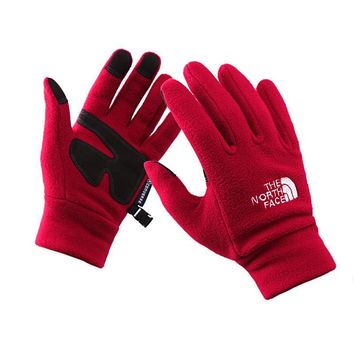 The North Face  Outdoors Sports Fleece Cycling Gym Gloves [9516471879]
