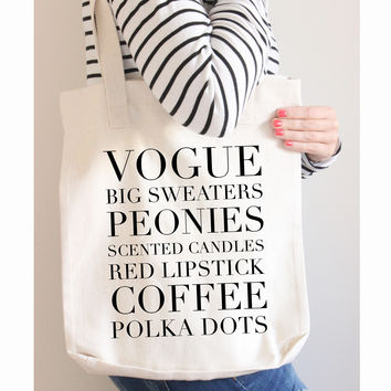 The Little Things Tote