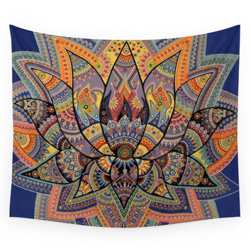 Society6 Lotus Wall Tapestry
