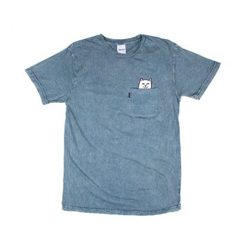Lord Nermal Pocket Tee (Indigo Acid Wash)