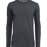 H&M - Tennis Shirt - Black - Men