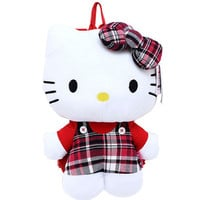 Hello Kitty Checkered Backpack