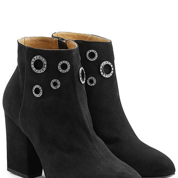 Sonia Rykiel - Embellished Suede Ankle Boots