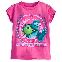 Disney Mike and Sulley Tee for Girls - Monsters University | Disney Store