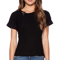 Citizens of Humanity Esmay T-Shirt in Black
