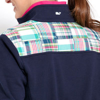 Womens Pullovers: Patchwork Madras Shep Shirt Pullover - Vineyard Vines