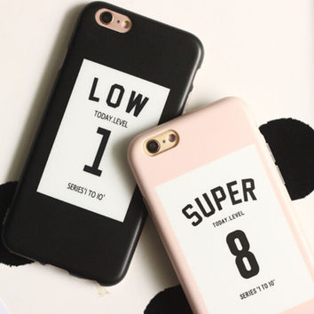Lucky Numbers Lovers Case for iPhone 7 7Plus iPhone se 5s 6 6 Plus Best Protection Cover +Gift Box