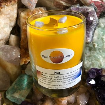 Goddess Ritual Candle:  Nut, Egyptian Goddess of the sky