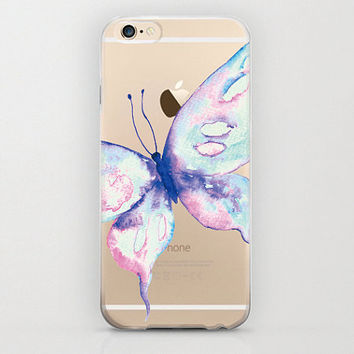 Colorful Butterfly iPhone 6 Cell Phone Case Apple iPhone 6 Unique Covers iPhone 6 Plus Plastic Protectors iPhone 6s Plus Butterfly Insect