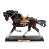 Trail Of Painted Ponies Navajo Chief Figurine