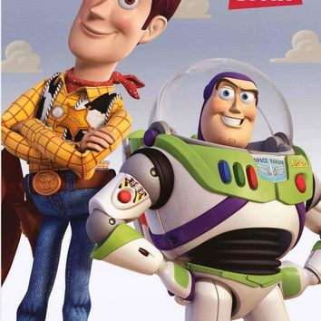 Toy Story Woody and Buzz Lightyear Movie Poster 24x36