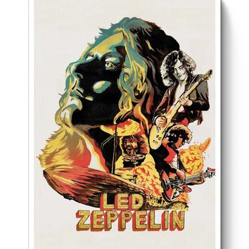 Led Zeppelin The Best Band Poster