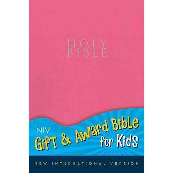 Holy Bible: New International Version, Pink, Leather-Look, Gift & Award Bible for Kids