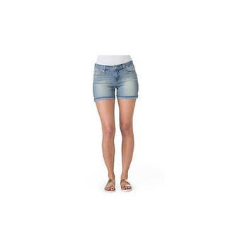 Signature By Levi Strauss & Co Women's Sasha Denim Shorts, 4, Socialite/Light W
