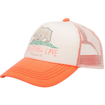 Billabong Girls - Cali Love Hat | Coral Kiss