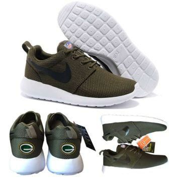 Nike Green Bay Packers London Olympics Brown Shoes