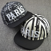 Paris hip hop hat hat flat male and female hip-hop Cap Baseball Cap = 1917057860