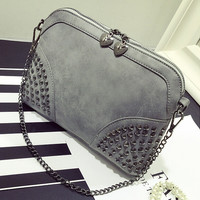 Fashion Women Retro Waterproof Leather Shoulder Bag Female Casual Crossbody Messenger Bags Chic Handbag Gift 43