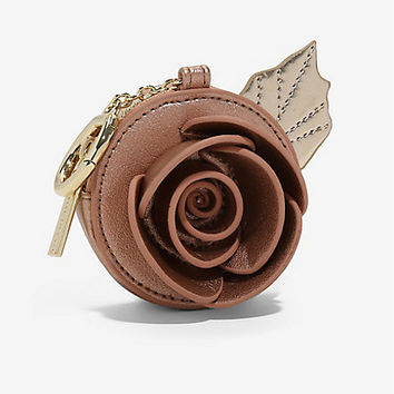 Danielle Nicole Disney Beauty And The Beast Rose Bag Clip