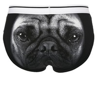 ASOS Brief With Pug Print