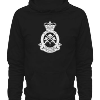 Royal Canadian Infantry Corps canada-infantry-white-hoodie