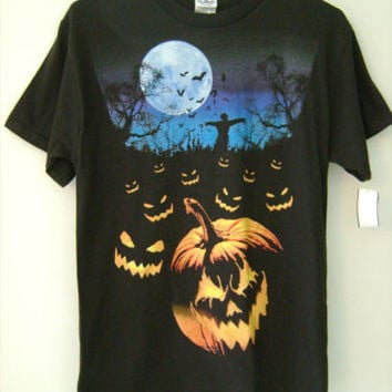 Mens Halloween T Shirt Funny Sayings 100% Cotton Novelty Design Short Sleeve NWT