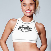 High-Neck Crop - PINK - Victoria's Secret