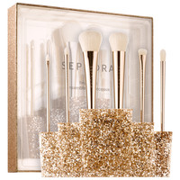 Sephora: SEPHORA COLLECTION : Glitter Happy Brush Set : makeup-brush-sets