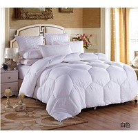 winter goose down blanket comforter winter king feather comforter embroidered summer quilts