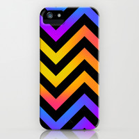 Chevronia II iPhone & iPod Case by Rain Carnival