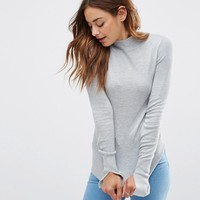 ASOS Jumper With Turtle Neck in Soft Yarn at asos.com