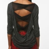 UrbanOutfitters.com > Tela Twist Back Bow Top