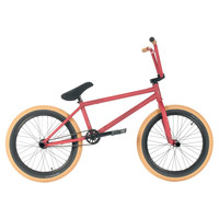"United Martinez Expert Freecoaster 20.65"" Satin Blood Pro BMX Bike"
