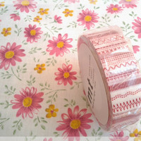 MT tape, fun red washi tape