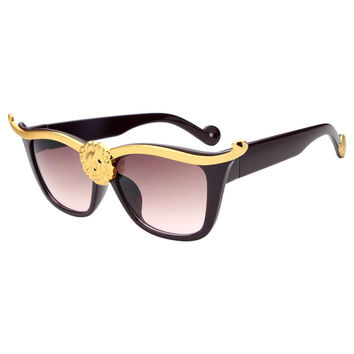 Super Popular Sexy Chic cat eye sunglasses women Inspired Retro Sun glasses Shades