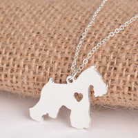 Schnauzer Necklace