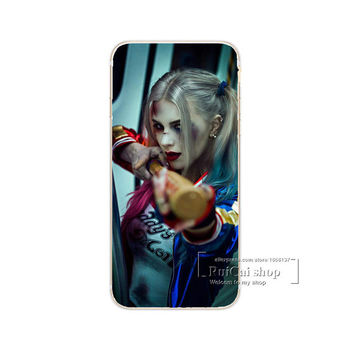 Harley Quin Look at My Bat Phone Case For iPhone 7 7Plus 6 6s Plus 5 5s SE