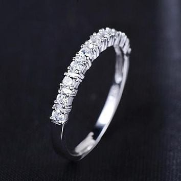 $0.01 + SHIPPING COST! Romantic Forever Love Zircon 30% Percent Silver Plated (Limit 5 Per Customer)