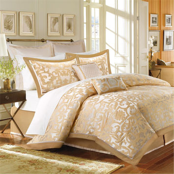 Madison Park Signature Castello 8 Piece Comforter Set - Gold