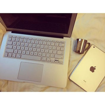 Silver Color Keyboard Cover for MacBook