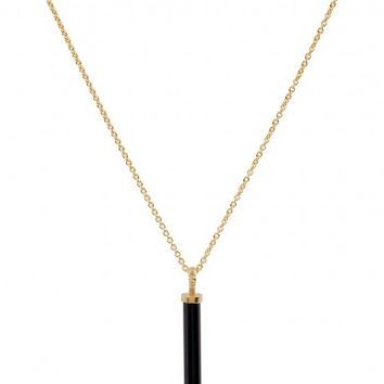 Missoma 18kt gold vermeil wand charm