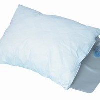 DMI Duro-Rest Hypoallergenic Water Pillow for Firm, Medium or Soft Support, White
